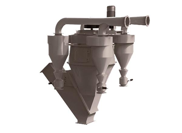 SL-SF复合式三分离选粉机